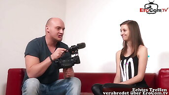 Downright GERMAN TEEN VIRGIN AT CASTING – SHE Merely WANTS ANAL