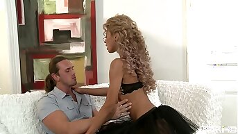 Pocket-sized teen Victoria Tiffani gets her small ass full-bodied involving big fat cock