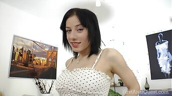 FirstAnalQuest.com - ANAL SEX POSITIONS EXPLORED WITH BIG TITS RUSSIAN Ecumenical