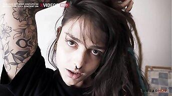 Garota Gostosa faz ANAL e deixa namorado gozar dentro do cuzinho - Dread Hot