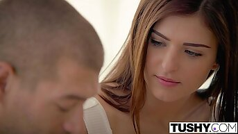 TUSHY First Anal Be fitting of Step Sister Leah Gotti