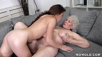 GILF And Young Wage-earner Having Lesbian Sex - Tiffany Doll, Norma