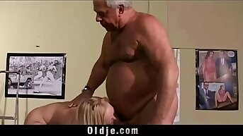 Vintage Old Young Teenie Cookie Fucked grey hair grandpas roughly small cockcs