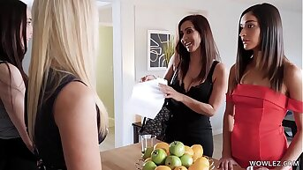 I rate you are shy and innocent, Emily! - India Summer and Emily Willis