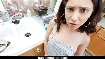 Tiny Teen Step Daughter Jane Wilde Taught Family Lessons By Step Dad POV